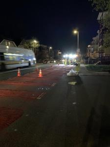 Washington St 4.21 Red Lanes